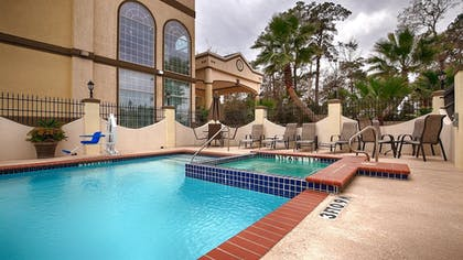 Pool | Best Western Plus New Caney Inn & Suites