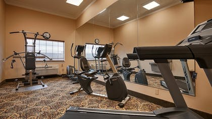 Fitness Facility | Best Western Plus New Caney Inn & Suites