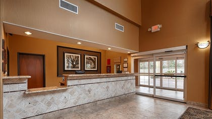 Reception | Best Western Plus New Caney Inn & Suites