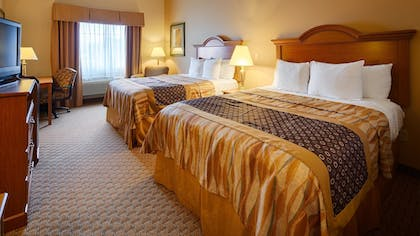 Guestroom | Best Western Plus New Caney Inn & Suites