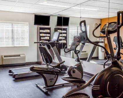 Fitness Facility | Comfort Suites Bloomsburg