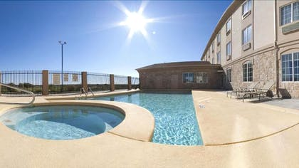 Outdoor Pool | Holiday Inn Express Hotel & Suites Pecos