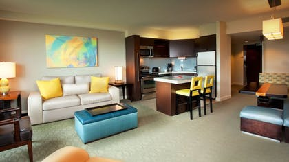 Living Area | Bay Lake Tower at Disney's Contemporary Resort