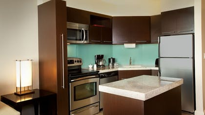 In-Room Kitchen | Bay Lake Tower at Disney's Contemporary Resort