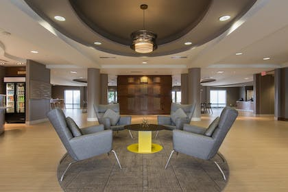 Lobby | SpringHill Suites by Marriott Columbia Downtown/The Vista