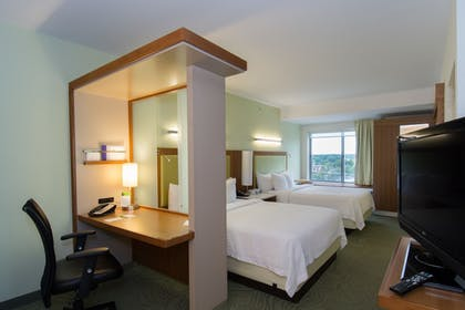 Guestroom | SpringHill Suites by Marriott Columbia Downtown/The Vista