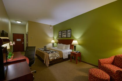 Living Area | Sleep Inn And Suites Pearland - Houston South