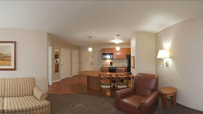 Living Area | Candlewood Suites Bartlesville East