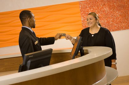 Check-in/Check-out Kiosk   SpringHill Suites by Marriott San Antonio Airport