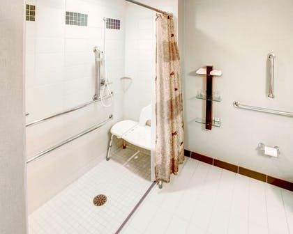 Bathroom Shower | Cambria Hotel Noblesville Indianapolis