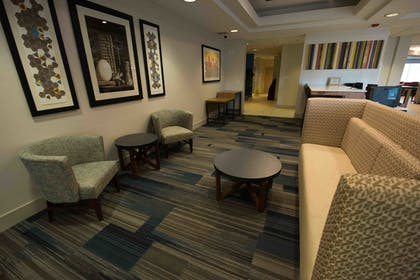 Lobby Sitting Area | Holiday Inn Express Hotel & Suites West Coxsackie