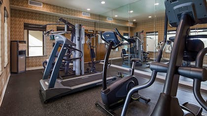 Fitness Facility | Best Western Plus Lackland Hotel & Suites