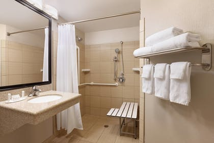 Bathroom | Springhill Suites by Marriott West Palm Beach
