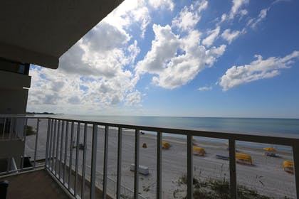 Balcony | Shoreline Island Resort - Exclusively Adult