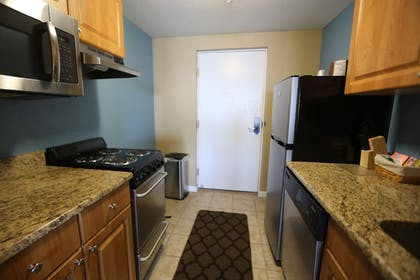In-Room Kitchenette | Shoreline Island Resort - Exclusively Adult