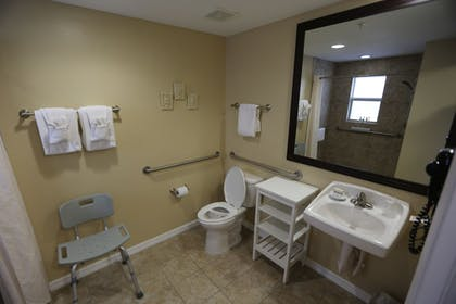 Bathroom | Shoreline Island Resort - Exclusively Adult