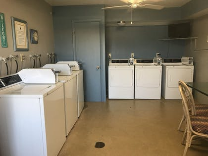 Laundry Room | Shoreline Island Resort - Exclusively Adult