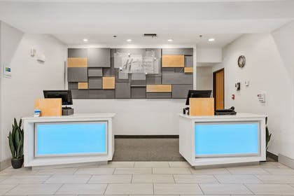 Check-in/Check-out Kiosk | Holiday Inn Express Hotel and Suites West Valley