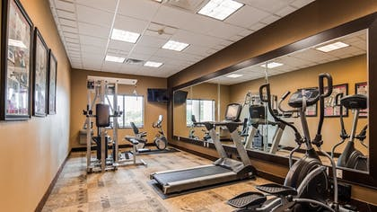 Fitness Facility | Best Western Plus Texoma Hotel & Suites