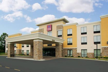 Front of Property   Comfort Suites Cicero - Syracuse North