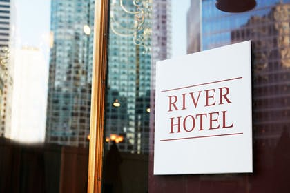 Hotel Front | The River Hotel