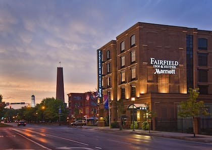 Hotel Front - Evening/Night | Fairfield Inn & Suites Baltimore Downtown/Inner Harbor