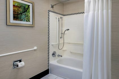 Bathroom Shower | Fairfield Inn & Suites Baltimore Downtown/Inner Harbor