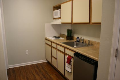 In-Room Kitchenette | Affordable Suites