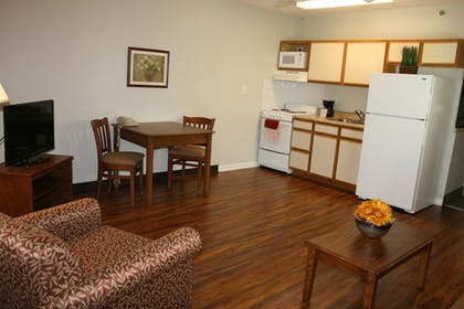 In-Room Kitchen | Affordable Suites