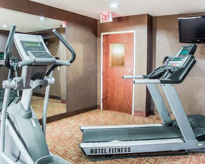 Fitness Facility | Quality Inn Raleigh Downtown