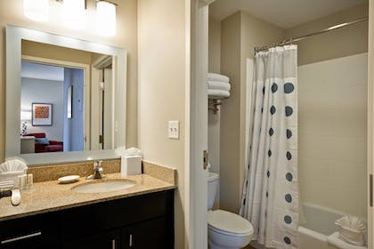 Guestroom | TownePlace Suites by Marriott Dallas Lewisville