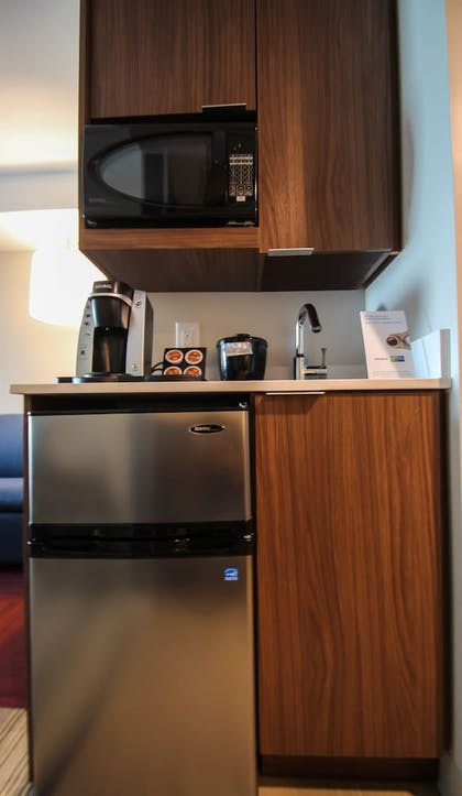 In-Room Kitchenette   Holiday Inn Express & Suites Charlotte Southeast - Matthews