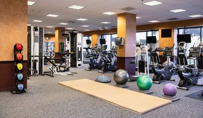 Fitness Facility   NCED Conference Center & Hotel