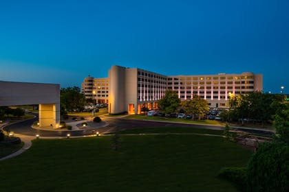 Front of Property - Evening/Night   NCED Conference Center & Hotel