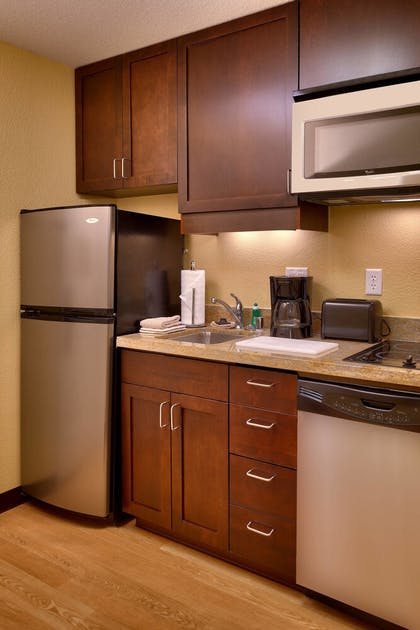 In-Room Kitchen | TownePlace Suites by Marriott Las Vegas Henderson
