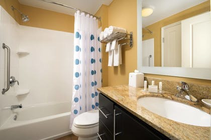 Bathroom Shower | TownePlace Suites Patuxent River Naval Air Station