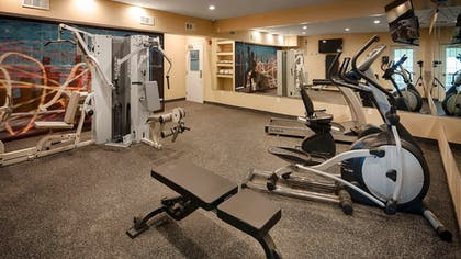 Fitness Facility | Best Western Plus Crawfordsville Hotel