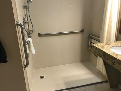 Bathroom | Best Western Plus Crawfordsville Hotel