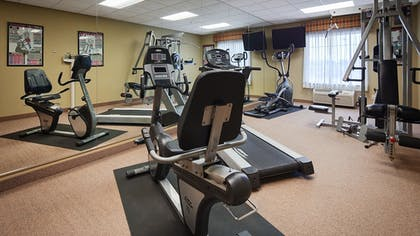 Fitness Facility | Best Western Plus Katy Inn & Suites