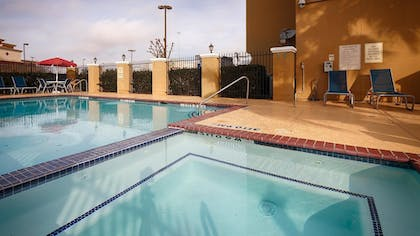 Outdoor Spa Tub | Best Western Plus Katy Inn & Suites