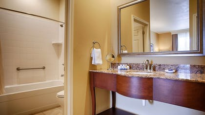 Bathroom | Best Western Plus Swiss Chalet Hotel & Suites