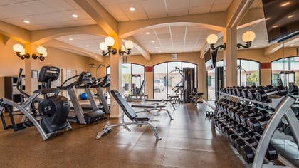 Fitness Facility | Best Western Plus Swiss Chalet Hotel & Suites
