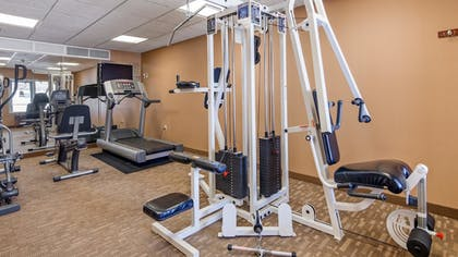 Fitness Facility | Best Western Plus Fossil Country Inn & Suites