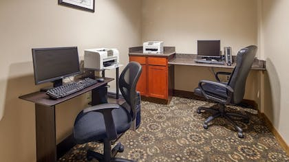 Business Center | Best Western Plus Fossil Country Inn & Suites