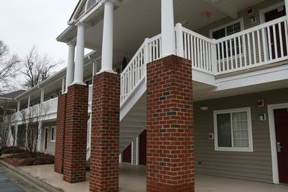 Hotel Front | Affordable Suites Rocky Mount