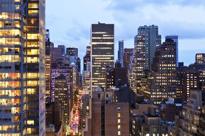 Guestroom View | Four Points by Sheraton Midtown-Times Square