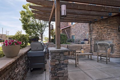 BBQ/Picnic Area   TownePlace Suites Fayetteville Cross Creek