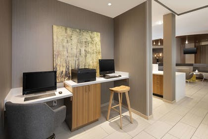 Business Center   SpringHill Suites by Marriott Indianapolis Downtown