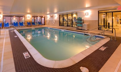 Indoor Pool | TownePlace Suites by Marriott Omaha West
