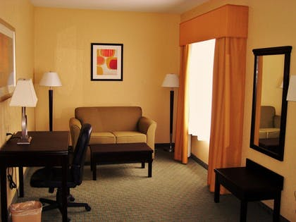 Living Area | Ambassador Inn and Suites Tuscaloosa